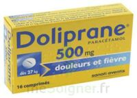 DOLIPRANE 500 mg Comprimés 2plq/8 (16) à TOULENNE