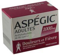 ASPEGIC ADULTES 1000 mg, poudre pour solution buvable en sachet-dose 15 à TOULENNE