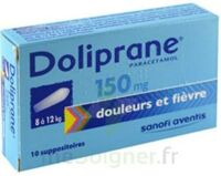 DOLIPRANE 150 mg Suppositoires 2Plq/5 (10) à TOULENNE