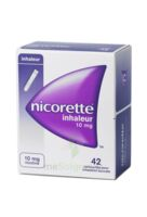 NICORETTE INHALEUR 10 mg Cartouche p inh bucc inhalation buccale B/42 à TOULENNE
