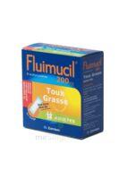 FLUIMUCIL EXPECTORANT ACETYLCYSTEINE 200 mg ADULTES SANS SUCRE, granulés pour solution buvable en sachet édulcorés à l'aspartam et au sorbitol à TOULENNE