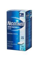 NICOTINELL MENTHE FRAICHEUR 4 mg SANS SUCRE, gomme à mâcher médicamenteuse 8Plq/12 à TOULENNE