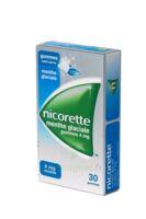 NICORETTE 4 mg Gom à mâcher médic sans sucre menthe glaciale Plq/30gom à TOULENNE