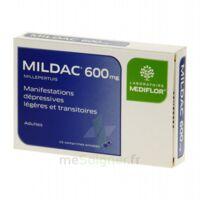 MILDAC 600 mg, comprimé enrobé à TOULENNE