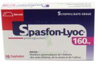 SPASFON LYOC 160 mg, lyophilisat oral à TOULENNE