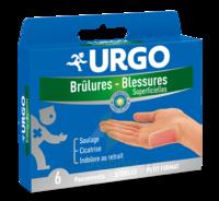 URGO BRULURES-BLESSURES PETIT FORMAT x 6 à TOULENNE
