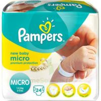 PAMPERS COUCHES NEW BABY MICRO 1-2,5 KG x 24 à TOULENNE