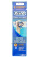 BROSSETTE DE RECHANGE ORAL-B PRECISION CLEAN x 3
