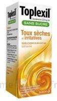 TOPLEXIL 0,33 mg/ml sans sucre solution buvable 150ml à TOULENNE