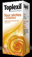 TOPLEXIL 0,33 mg/ml, sirop 150ml à TOULENNE