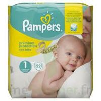 PAMPERS NEW BABY PREMIUM PROTECTION, taille 1, 2 kg à 5 kg, sac 22 à TOULENNE