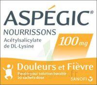 ASPEGIC NOURRISSONS 100 mg, poudre pour solution buvable en sachet-dose à TOULENNE