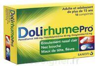 DOLIRHUMEPRO PARACETAMOL, PSEUDOEPHEDRINE ET DOXYLAMINE, comprimé à TOULENNE