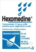HEXOMEDINE TRANSCUTANEE 1,5 POUR MILLE, solution pour application locale à TOULENNE