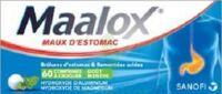 MAALOX HYDROXYDE D'ALUMINIUM/HYDROXYDE DE MAGNESIUM 400 mg/400 mg Cpr à croquer maux d'estomac Plq/60