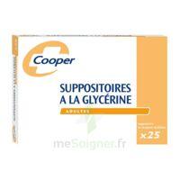 SUPPOSITOIRES A LA GLYCERINE COOPER Suppos en récipient multidose adulte Sach/25 à TOULENNE
