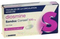 DIOSMINE SANDOZ CONSEIL 600 mg, comprimé pelliculé à TOULENNE