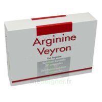 ARGININE VEYRON, solution buvable en ampoule à TOULENNE
