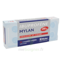 IBUPROFENE MYLAN 200 mg, comprimé enrobé B/30 à TOULENNE