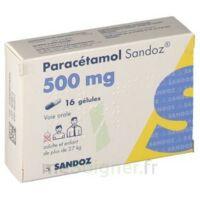 PARACETAMOL SANDOZ 500 mg, gélule à TOULENNE