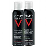 VICHY mousse à raser peau sensible LOT