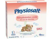 PHYSIOSALT REHYDRATATION ORALE SRO, bt 10 à TOULENNE