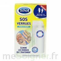 Scholl SOS Verrues traitement pieds et mains à TOULENNE