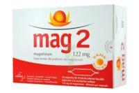 MAG 2 122 mg S buv en ampoule sans sucre édulcoré à la saccharine sodique 30Amp/10ml à TOULENNE