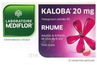 KALOBA 20 mg Comprimé pelliculé Plq/21