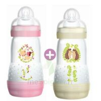 MAM BIBERON EASY START anti-colique 260 ml lot de 2_ ROSE & BEIGE à TOULENNE