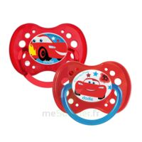 Dodie Disney sucettes silicone +18 mois cars Duo à TOULENNE