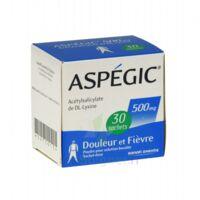 ASPEGIC 500 mg, poudre pour solution buvable en sachet-dose 30 à TOULENNE