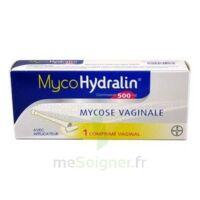 MYCOHYDRALIN 500 mg, comprimé vaginal à TOULENNE