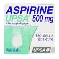 ASPIRINE UPSA 500 mg, comprimé effervescent à TOULENNE