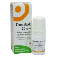 CROMABAK 20 mg/ml, collyre en solution à TOULENNE
