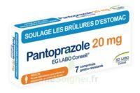 PANTOPRAZOLE EG LABO CONSEIL 20 mg Cpr gastro-rés Plq/7 à TOULENNE