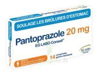 PANTOPRAZOLE EG LABO CONSEIL 20 mg Cpr gastro-rés Plq/14 à TOULENNE