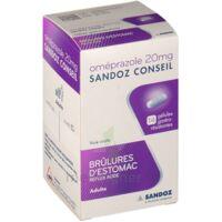 OMEPRAZOLE SANDOZ CONSEIL 20 mg Gél gastro-rés Plq/7 à TOULENNE