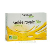 NAT&FORM BIO Gelée royale Solution buvable 20Amp/10ml à TOULENNE