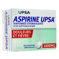 ASPIRINE UPSA TAMPONNEE EFFERVESCENTE 1000 mg, comprimé effervescent à TOULENNE