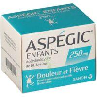 ASPEGIC ENFANTS 250, poudre pour solution buvable en sachet-dose à TOULENNE