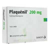 PLAQUENIL 200 mg, comprimé pelliculé à TOULENNE