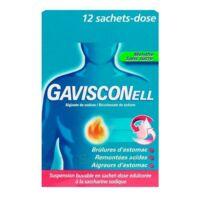 GAVISCONELL Suspension buvable sachet-dose menthe sans sucre 12Sach/10ml à TOULENNE