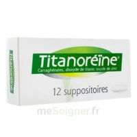 TITANOREINE Suppositoires B/12 à TOULENNE