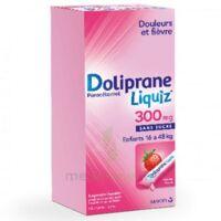 Dolipraneliquiz 300 mg Suspension buvable en sachet sans sucre édulcorée au maltitol liquide et au sorbitol B/12