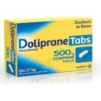 DOLIPRANETABS 500 mg Comprimés pelliculés Plq/16 à TOULENNE