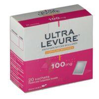 ULTRA-LEVURE 100 mg Poudre pour suspension buvable en sachet B/20 à TOULENNE