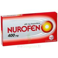 NUROFEN 400 mg Comprimés enrobés Plq/12 à TOULENNE