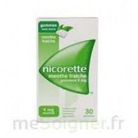 NICORETTE 4 mg Gom à mâcher médic sans sucre menthe fraîche Plq/30gom à TOULENNE