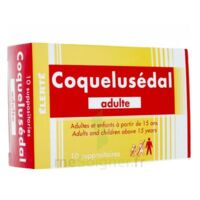 COQUELUSEDAL ADULTES, suppositoire à TOULENNE